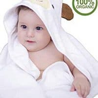 100% Organic Bamboo Hooded Baby Towel